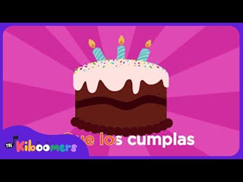 Feliz Cumpleaños | Canciones Infantiles | The Kiboomers