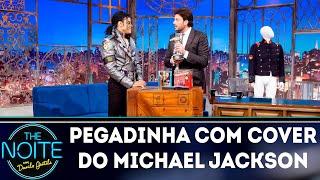 Danilo rasga ingresso e cover de Michael Jackson quase infarta | The Noite (24/09/18)