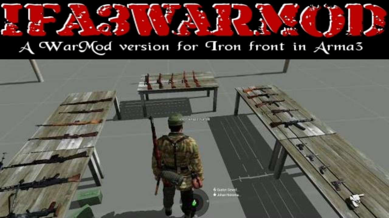 DualArms - Two Primary Weapons - ARMA 3 - ADDONS & MODS: COMPLETE