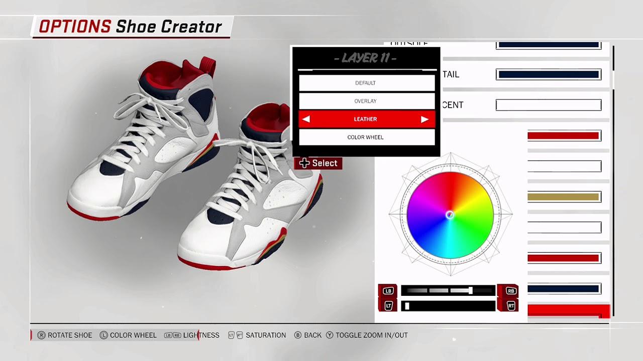 5d81f448a3dd3c NBA 2K18 Shoe Creator - Air Jordan 7