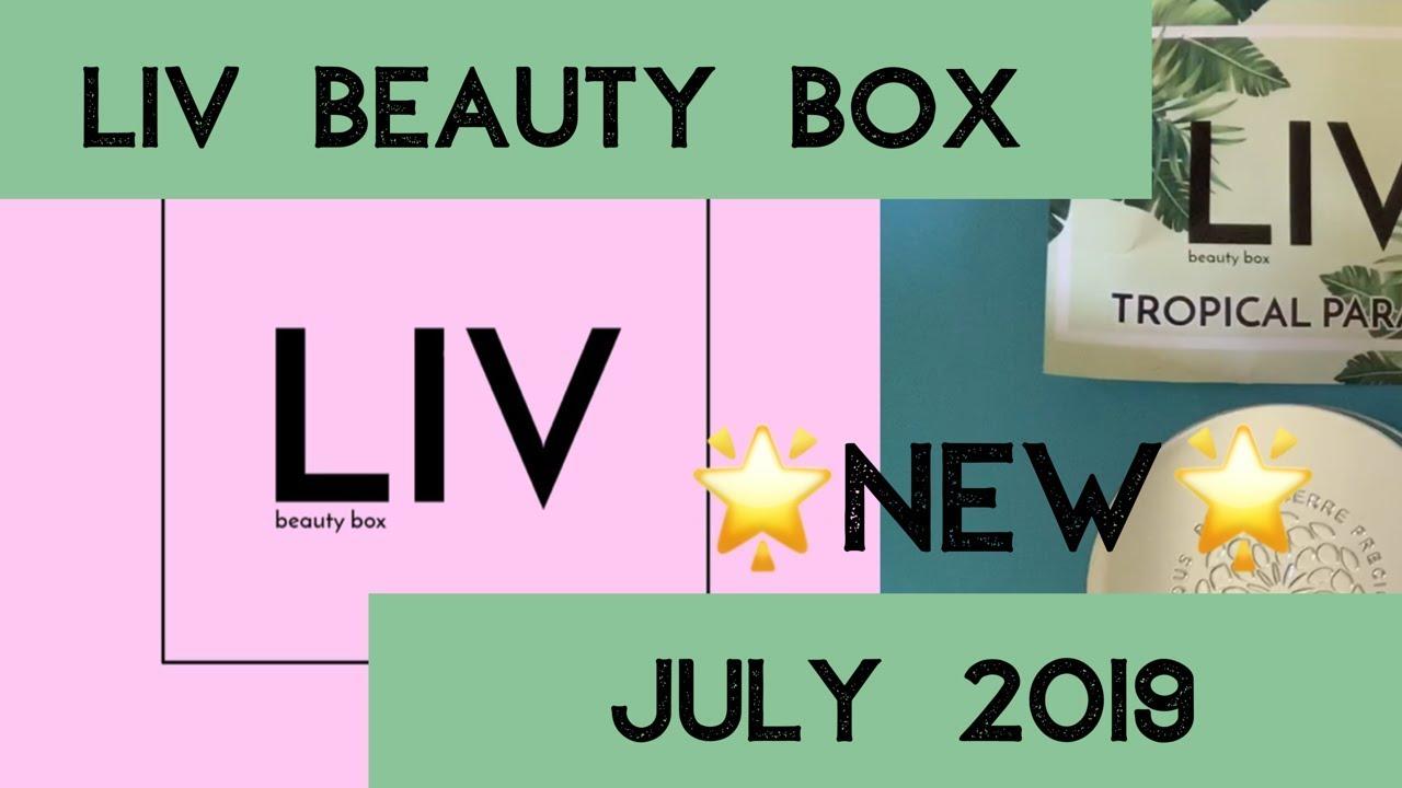 New Liv Beauty Box July 2019