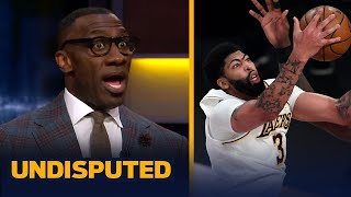 Skip & Shannon on Anthony Davis' season-high 42 Pts, LeBron's lingering injury | NBA | UNDISPUTED