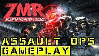 Zombies/Monsters/Robots - Assault Ops Gameplay