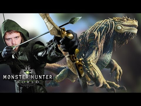 CHASSE A L'ARC ! GRAND JAGRAS MONSTER HUNTER WORLD