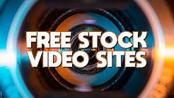Top 5 Best FREE STOCK VIDEO Footage Websites (2020)