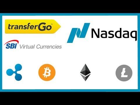 TransferGo Adds Crypto Trading! - SBI VC Surge in Registrations - Nasdaq Secret Crypto Meeting