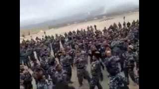 شاهد فضيحة جديدة من فضائح الشرطة العراقية 2013