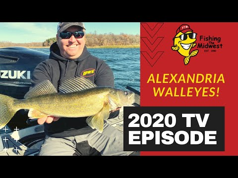 Alexandria: A Walleye Fishing Mecca!