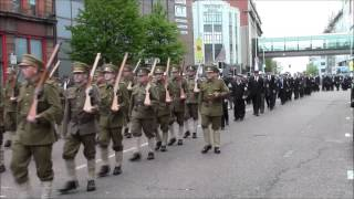 36th Ulster Division Mem Association Parade Belfast 9/5/2015 (Part7)