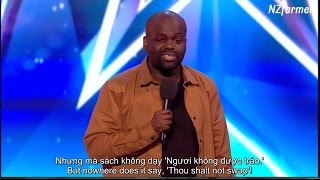 (English+Vietsub) Nút vàng của Amanda cho Daliso Chaponda Britain's Got Talent 2017