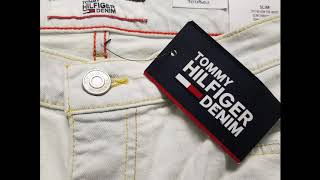 Wholesale Tommy Hilfiger Slim White Jeans By Closeoutexplosion.com