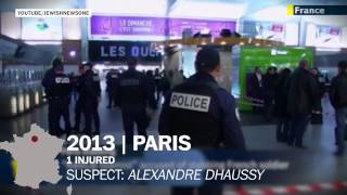 20 years of terror attacks in France