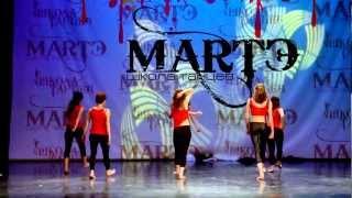 Джаз Модерн танец - школа танцев МАРТЭ 2012(Отчётный концерт 2012 Джаз Модерн танец для начинающих