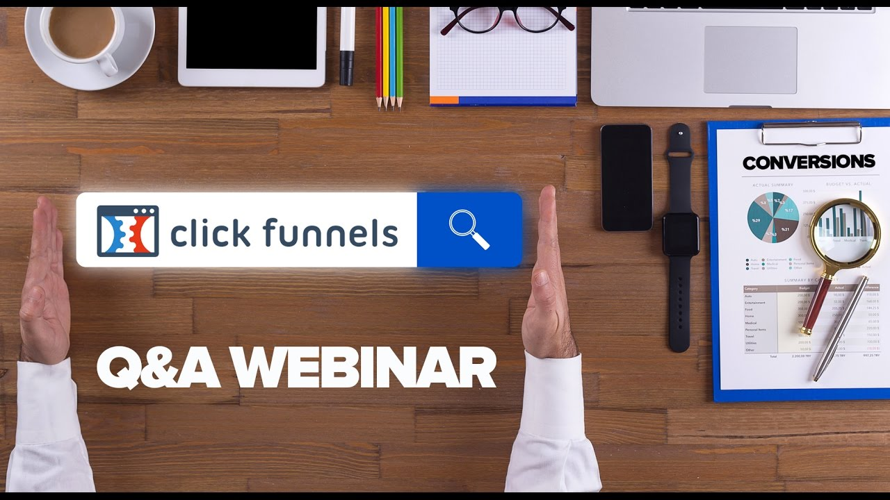 ClickFunnels Q&A 11/1/16 | What are the different button actions and what do they do?