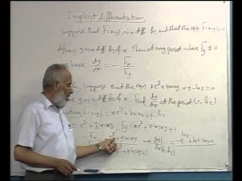 The Chain Rule + Directional Derivatives and Gradient Vectors