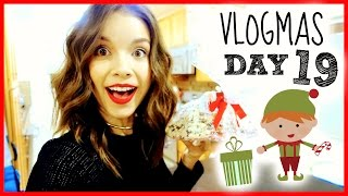 Christmas Party Time! ❄ Vlogmas 19, 2014