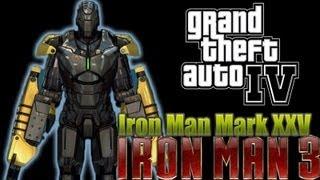 [GTA IV] [Iron Man 3] [Mark XXV] Gameplay PC