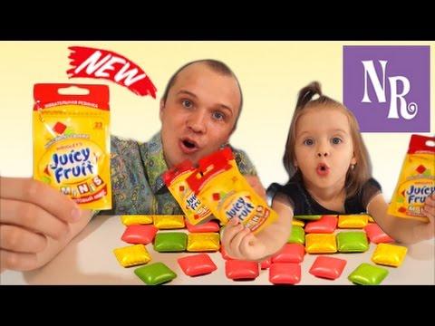 видео: Жвачка ДЖУСИ ФРУТ juicy fruit gum возвращается в Россию!!! МИРОВАЯ ПРЕМЬЕРА в сети Магнит