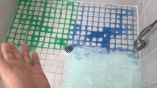 Easiest Shower Tile Grout Cleaning Hack!