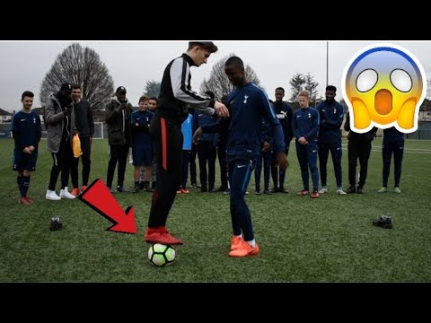 CAN I NUTMEG THE TOTTENHAM YOUTH TEAM !? (CRAZY REACTIONS)