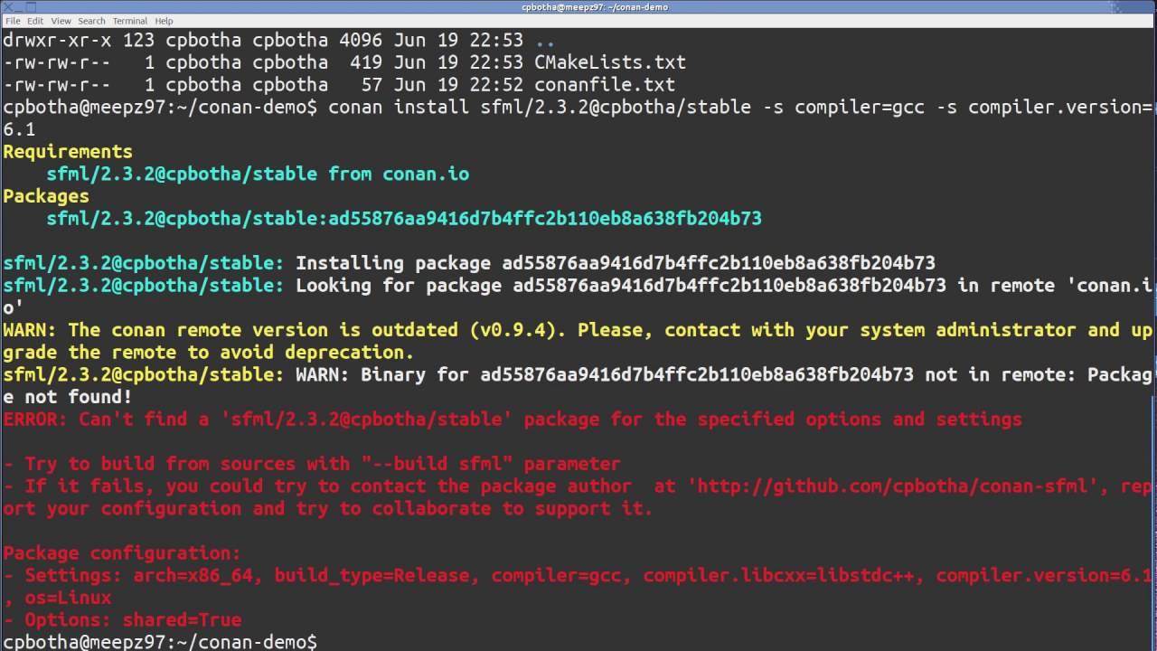 Videos and links — conan 1 6 1 documentation