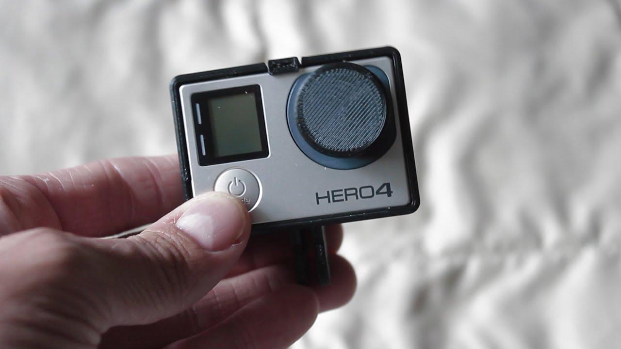 Custom printed 3d model gopro hero 4 black frame case and for Modelli case 3d