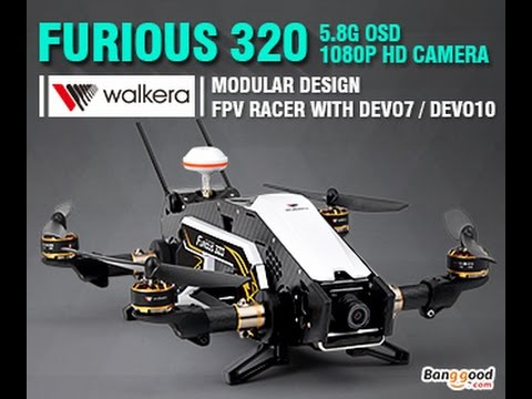 Walkera Furious 320 (GPS Edition) Drone Driver UPDATE