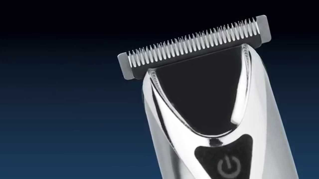 UPDATED 9818 v2 Wahl Stainless Steel Lithium Ion Trimmer - YouTube 08811d35614