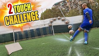 TWO TOUCH CHALLENGE - TeamPuma VS TeamAdidas 🔥