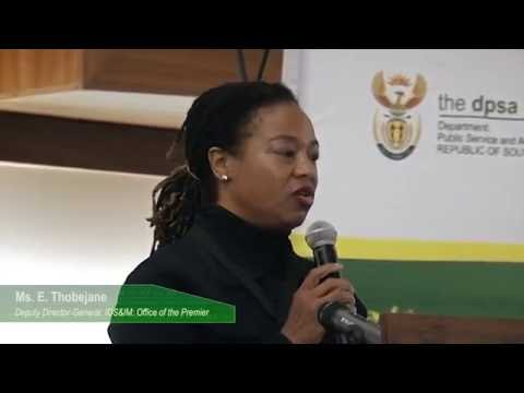 Africa Public Service Day address by DG Maswhahle Diphofa