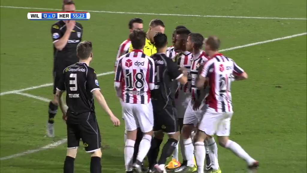 Willem II - Heracles Almelo 0-0 | 29-01-2016 | Samenvatting