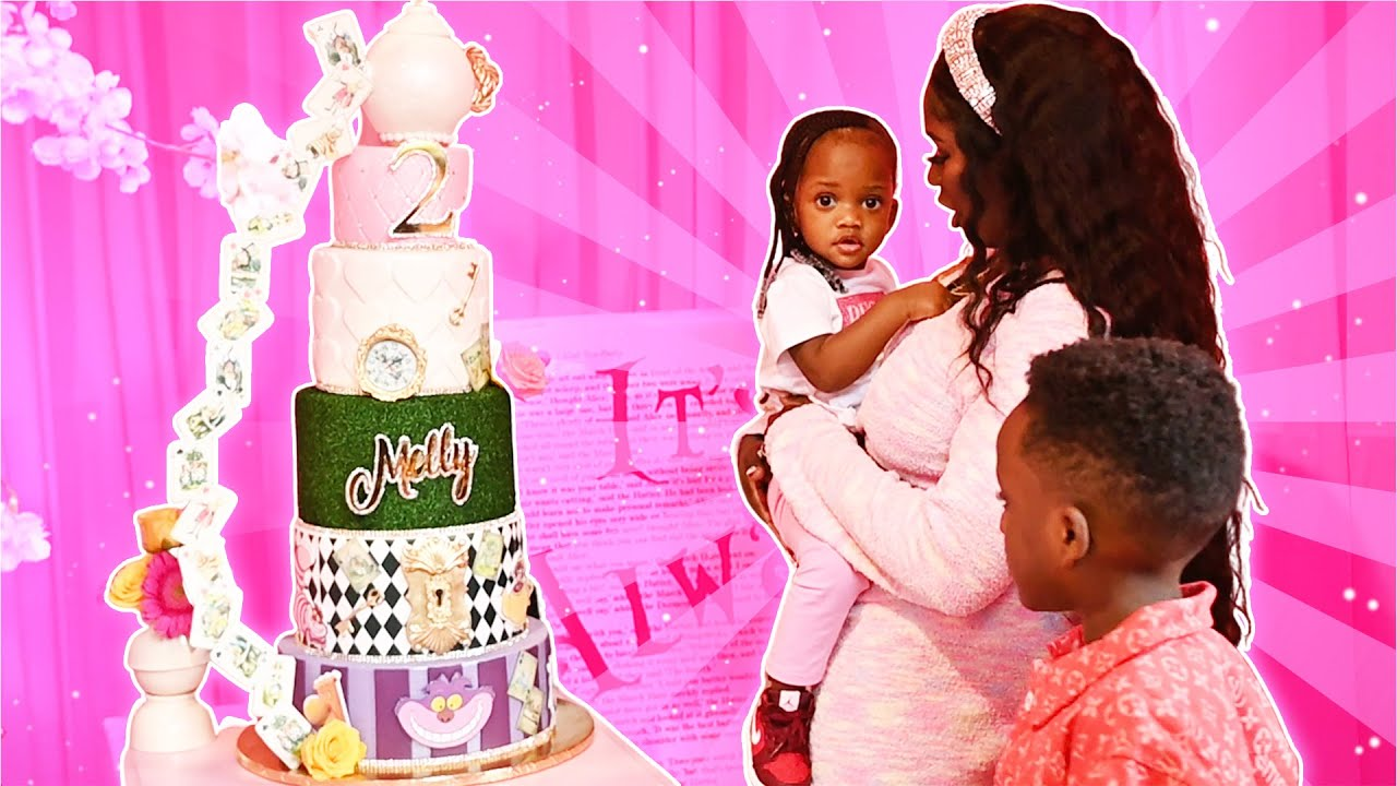 SURPRISED MELLY WITH A BIG BIRTHDAY PARTY *SHE WAS SO SHOCKED*