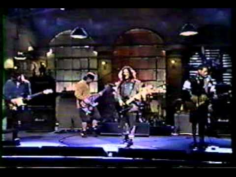Pearl Jam - Rearview Mirror (SNL Rehearsals April 1994 Show)