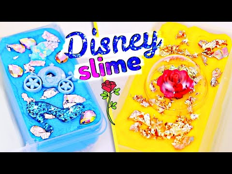 Disney Princess SLIME PALETTE!