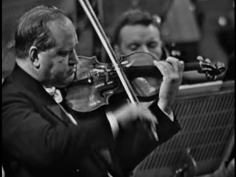 David Oistrakh - Brahms Violin Concerto in D Major, Op. 77