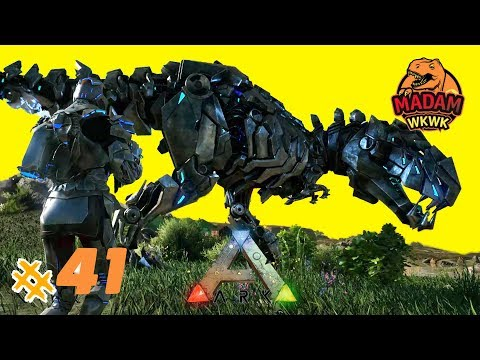BERBURU HiTEK REX SUPER SEKALi 😂 ARK Survival Evolved Indonesia #41