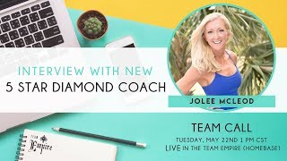 Team Empire Call with JoLee McLeod