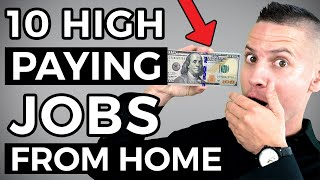 10 BEST High Paying Online Jobs You Can Learn and DO Working From Home!
