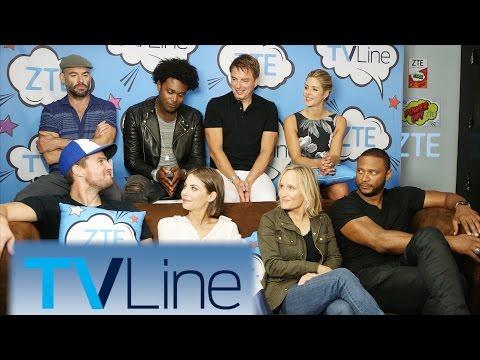 Arrow Interview   TVLine Studio Presented by ZTE   Comic-Con 2016