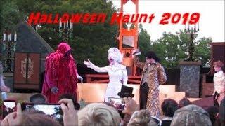 Kings Dominion Halloween Haunt 2019 Opening Night