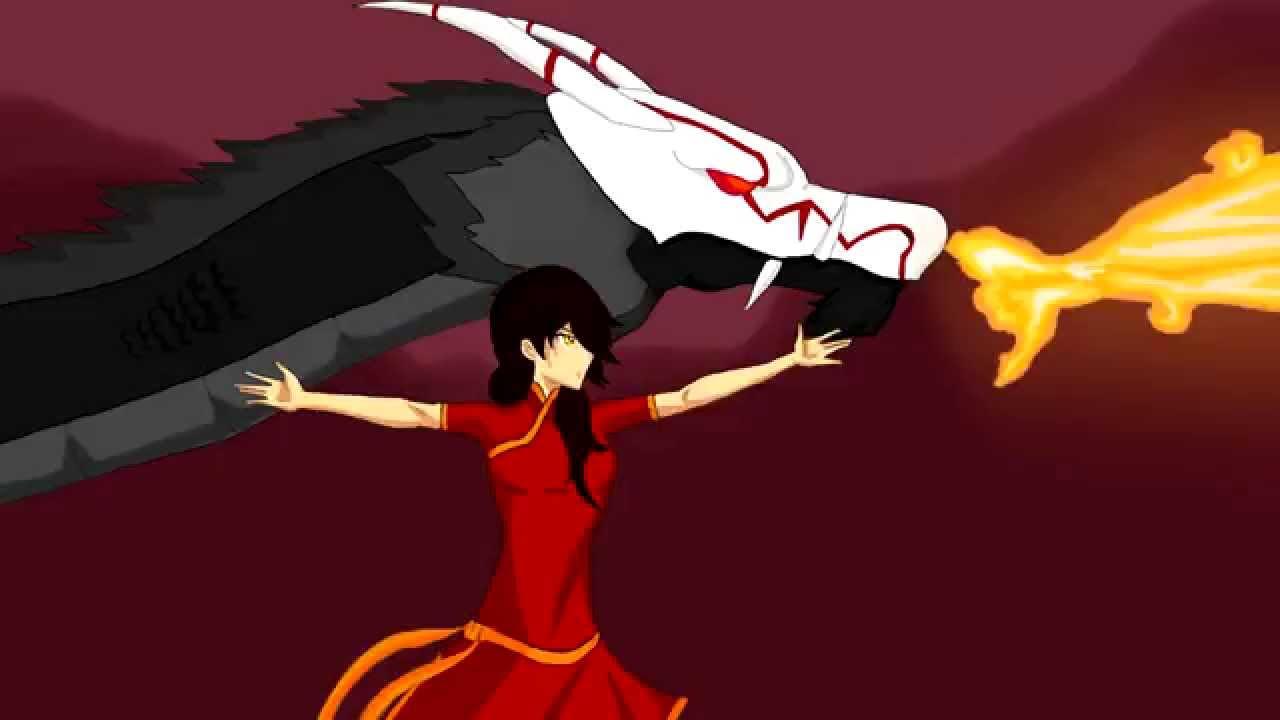Rwby Fanimation Avatar Crossover Youtube