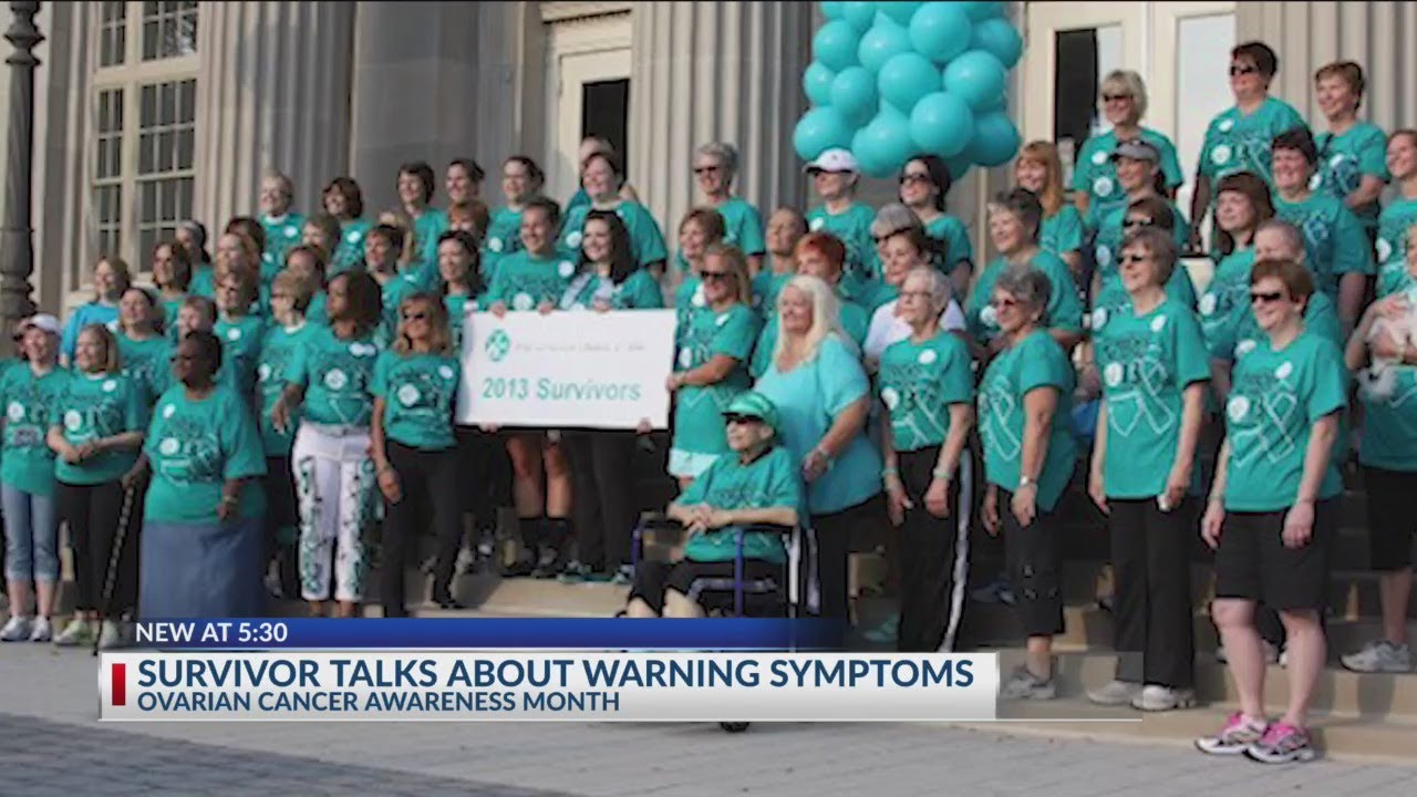 Survivor Talks About Warning Symptoms Ovarian Cancer Awareness Month Youtube