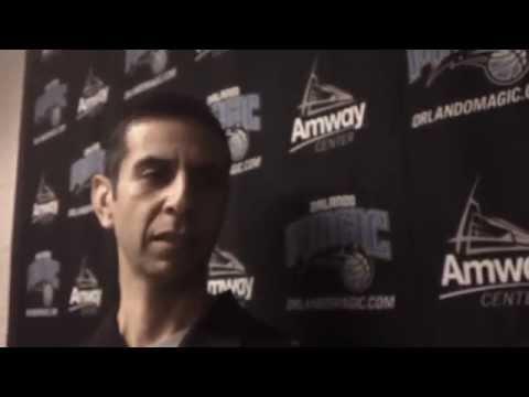 James Borrego First Practice Interview as Orlando Magic Head Coach