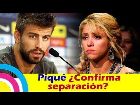 Gerard Piqué ¿CONFIRMA SEPARACIÓN con Shakira?