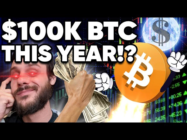 Why I'm 100% Convinced $100k BITCOIN Happens This Year!!