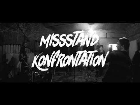 MISSSTAND - KONFRONTATION FEAT. FAHNENFLUCHT (OFFICIAL VIDEO) - Aggressive Punk Produktionen
