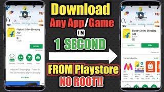 Hoe Download Je Een App In 1 Seconde Uit Playstore Geen Root-Toegang Nodig!