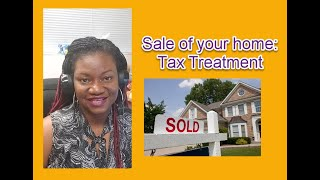 Tax Tip Thursday: Tax treatment for home sale