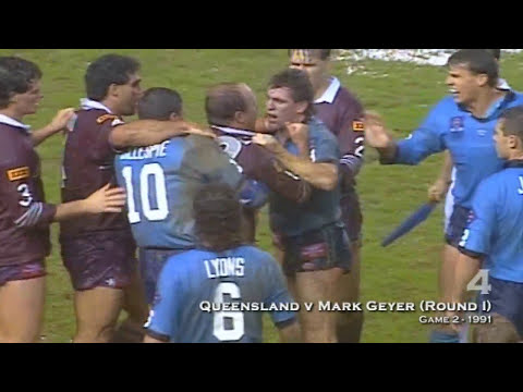 State Of Origin - Best Fights: Top 30 of All Time!