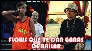 FLOWS ADICTIVOS que te dan ganas de BAILAR (Ep. 02) | Batallas de Rap YouTube Videos